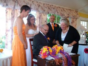 Wedding at Headly House